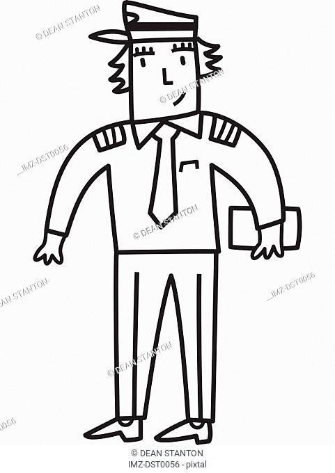 A postal worker