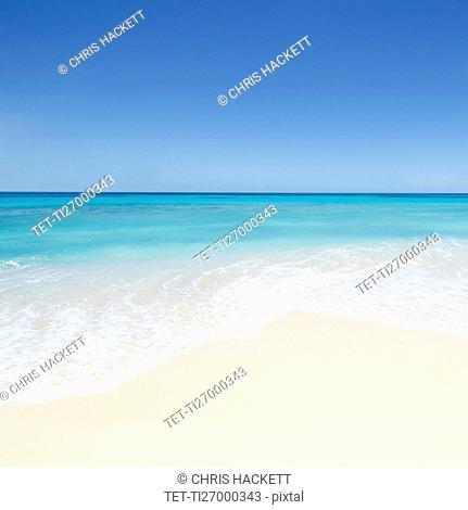 Antigua, Turner's Beach, Caribbean Sea
