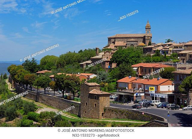Montalcino, Val d'Orcia, Orcia Valley, UNESCO World Heritage Site, Siena Province, Tuscany ,Tuscany landscape, Italy, Europe