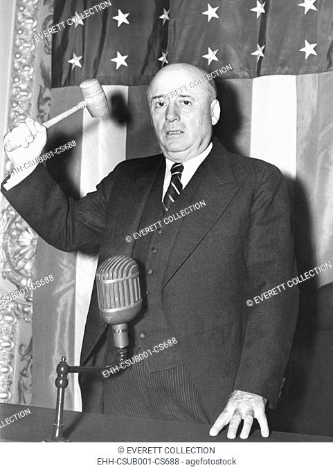 Sam Rayburn was elected Speaker of the House on Sept. 16, 1940. The Texas Democrat succeeded William B. Bankhead who died the previous day