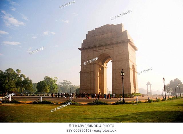 India Gate National Monument New Delhi India Asia