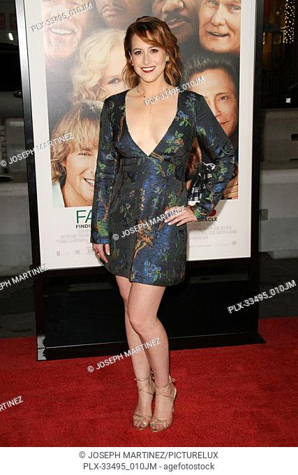 """Sarah Skeist at the Premiere of Warner Bros' """"""""Father Figures"""""""" held at the TCL Chinese Theater in Hollywood, CA, December 13, 2017"""