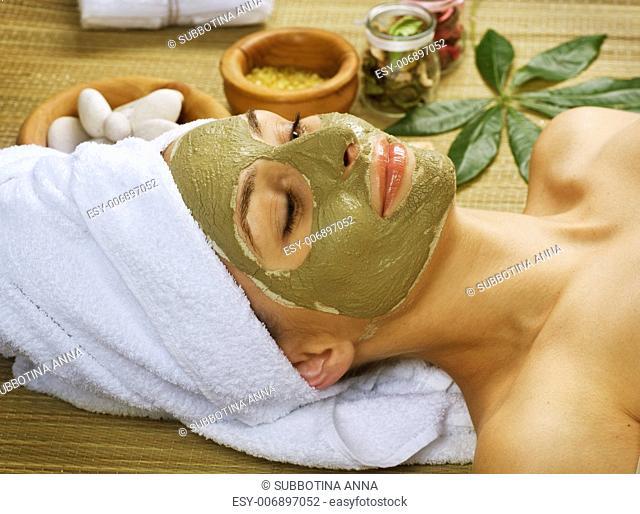 Spa Facial Mud Mask. Dayspa