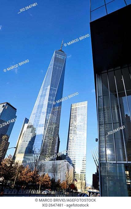 The One World Trade Center. Manhattan, New York City, USA