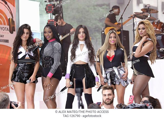 Fifth Harmony performs live on The Today Show on June 10th, 2015 in New York City, New York