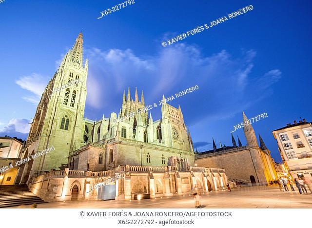 Cathedral of Burgos, Burgos city, Way of St. James, Burgos, Spain