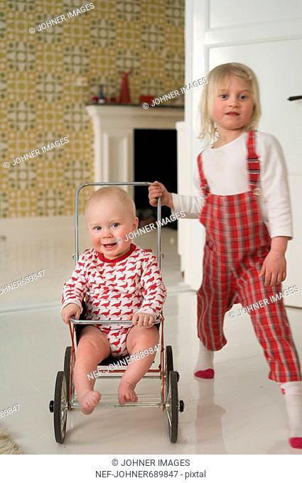 Children playing, Sweden