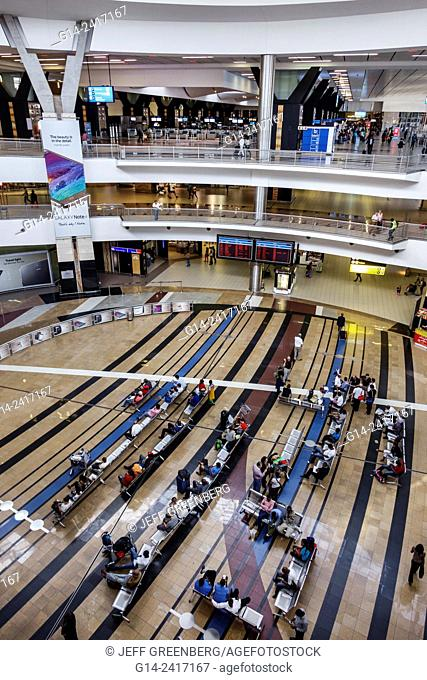 South Africa, African, Johannesburg, O. R. Tambo International Airport, inside, terminal, concourse