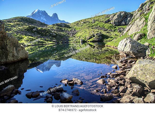 cheserys,massif of mont blanc,chamonix,haute savoie,france