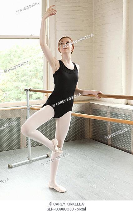 Ballerina in a pose