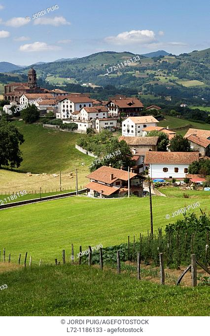 Ziga, Valle de Baztan, Navarra