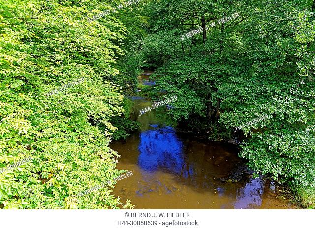 River, Ourthe, Houffalize Belgium