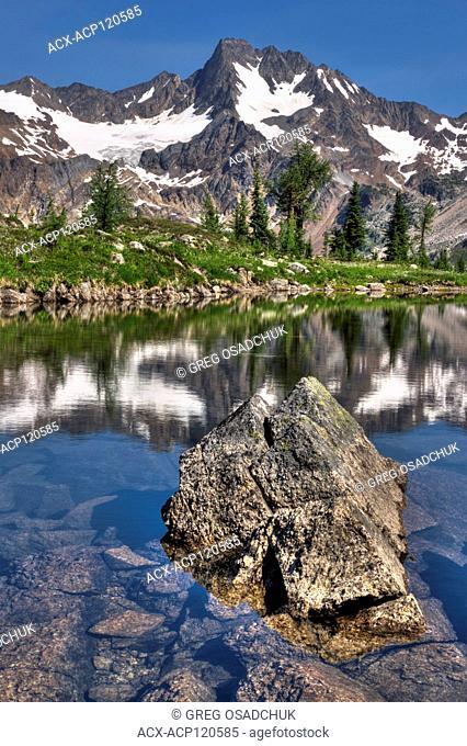 Taurus Mountain and Infinity Pool, Edouard Pass, West Kootenays