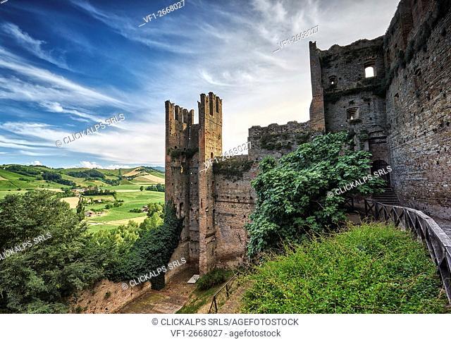 Castell Arquato, Piacenza, Emilia Romagna, Italy