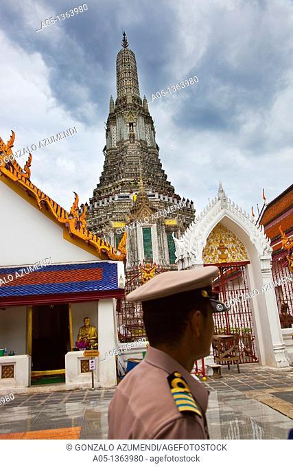 Wat Arun, The Temple of the Dawn  Bangkok, Thailand, Southeast Asia, Asia