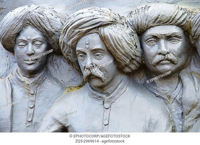 Replica of saints of Maharashtra, Situated at Sant Darshan Museum, Hadashi, Maharashtra, India