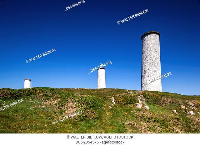 Ireland, County Waterford, Tramore, Metal Man, 1819 navigational marker