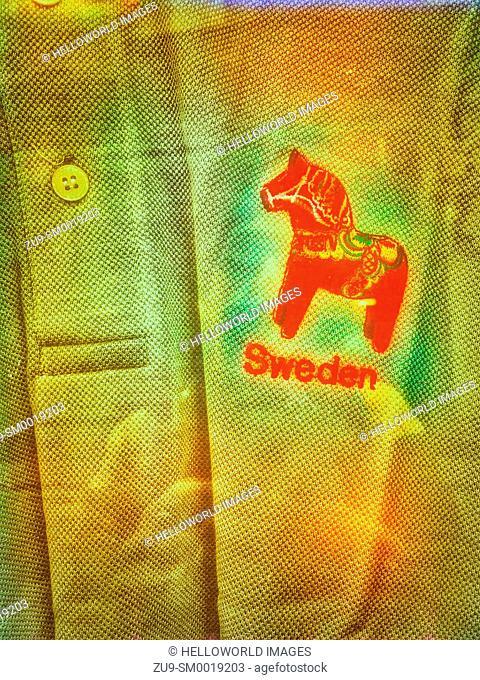 T shirt on display, Stockholm, Sweden, Scandinavia