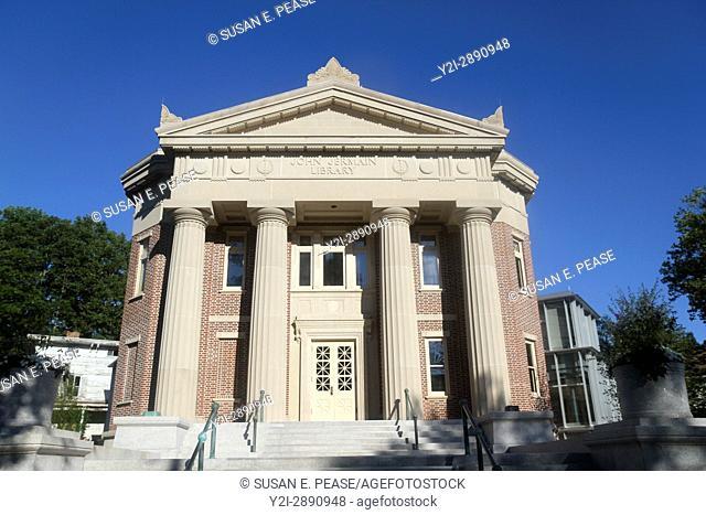 John Jermain Memorial Library (built in 1910. ) Sag Harbor, Long Island, New York, United States, North America