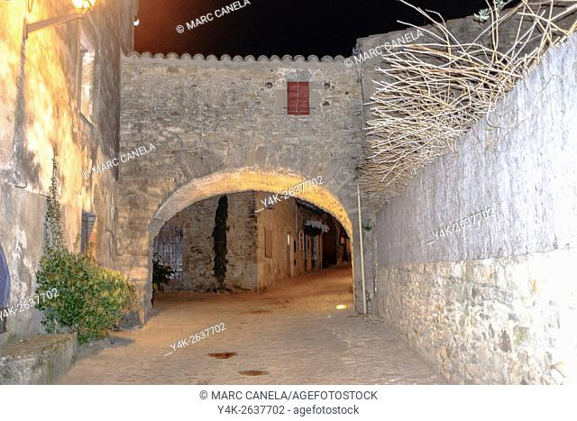 Peratallada, Girona province, Catalonia, Spain
