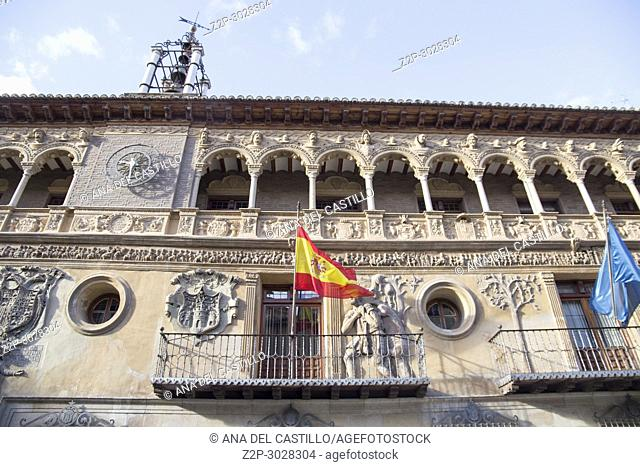 Tarazona de Aragon is a historic town in Aragon, Spain.The renaissance city hall building