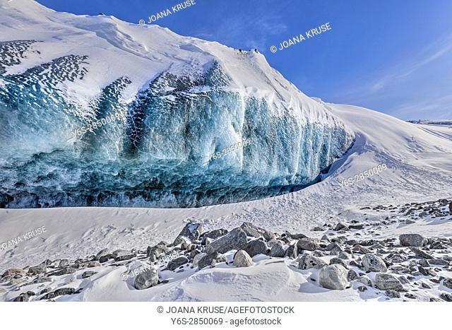 Ice Cap, Point 660, Kangerlussuaq, Artic Circle, Greenland, Europe
