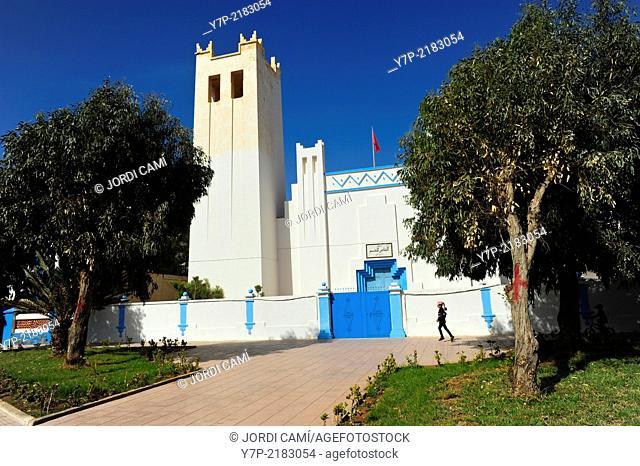 Court (Ancient church) . Sidi Ifni. Morocco .North Africa