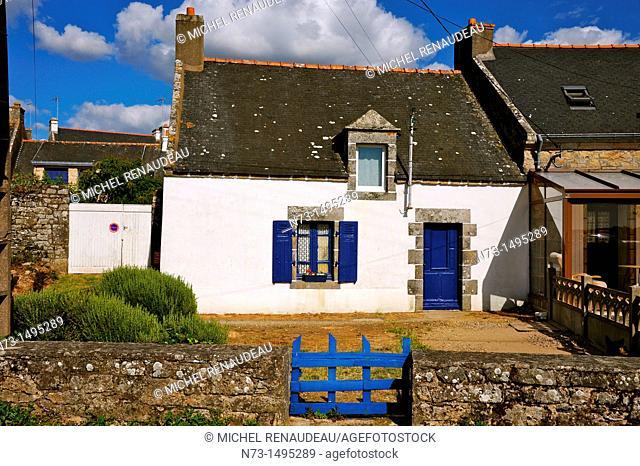 France, Morbihan 56, Ria d'Etel, Belz, île de Saint-Cado