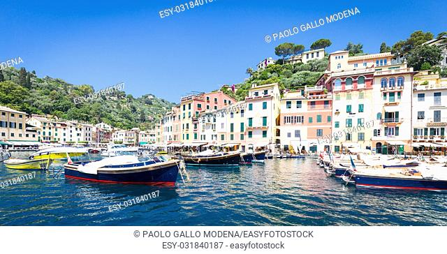 Close to Cinque Terre area, Portofino is one of the most beautiful and fashion town