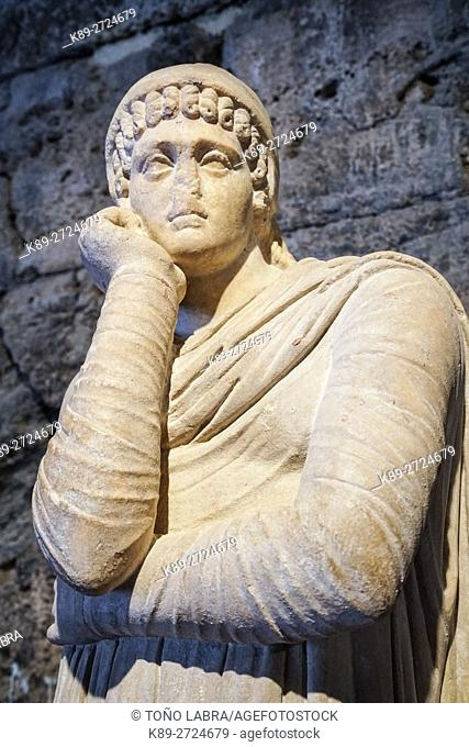 Hierapolis Museum. Ancient Greece. Asia Minor. Turkey