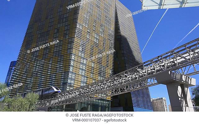 USA-Nevada-Las Vegas City-Las Vegas City center-Aria Resort-Crystals Hotel