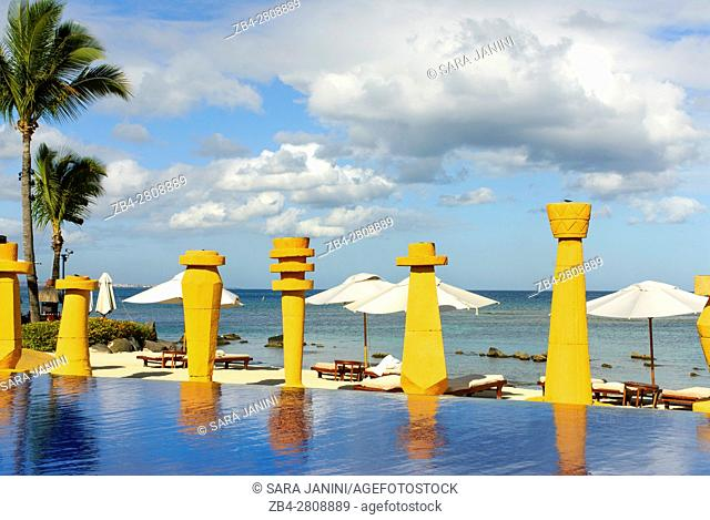 The Oberoi Hotel, Turtle Bay, Pointe aux Piments, Mauritius, Indian Ocean, Africa