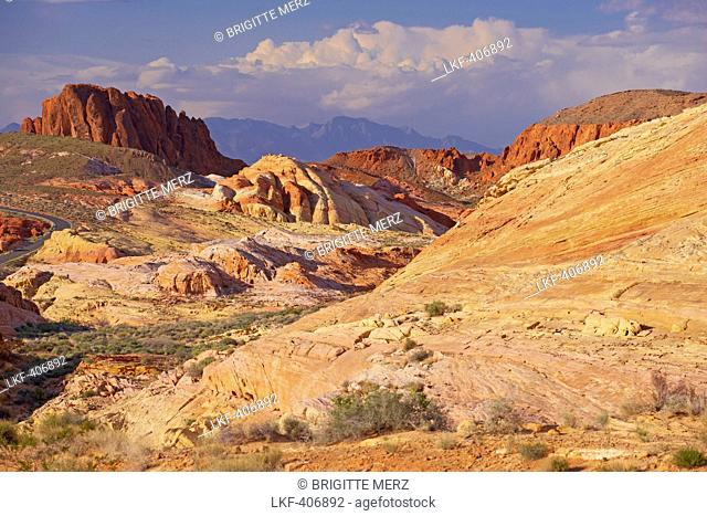 Valley of Fire State Park, Nevada, USA, America