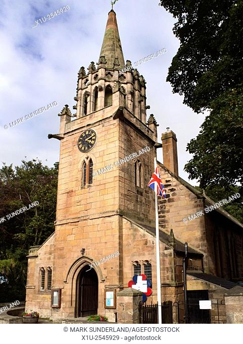 St Ebbas Church at Beadnell Northumberland England