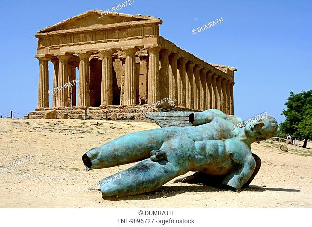 Concordia temple, Agrigent, Sicily, Italy, Europe