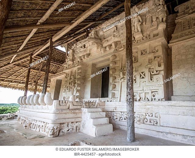 Mayan structure, Ek Balam, Yucatan, Mexico