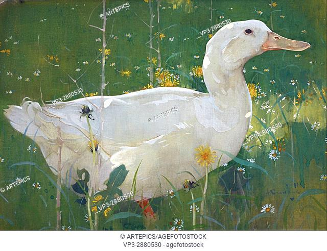 Joseph Crawhall - The White Drake - National Galleries of Scotland