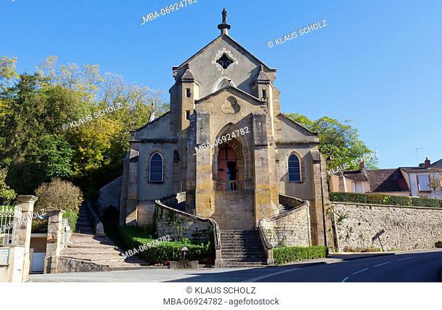 Hérisson, French parish church of Notre-Dame