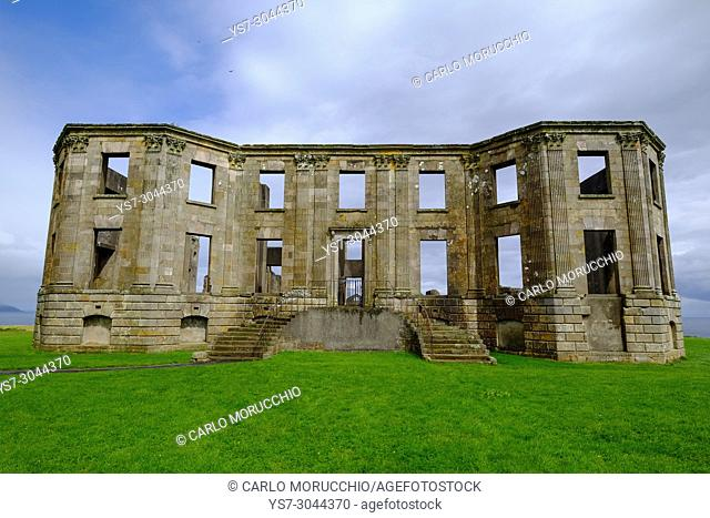 Downhill House, mansion built in the late 18th century at Downhill, County Londonderry, Northern Ireland