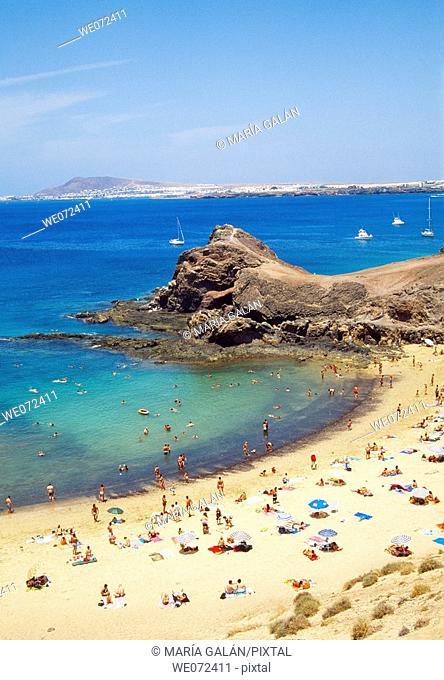Papagayo beaches, Lanzarote. Canary Islands, Spain