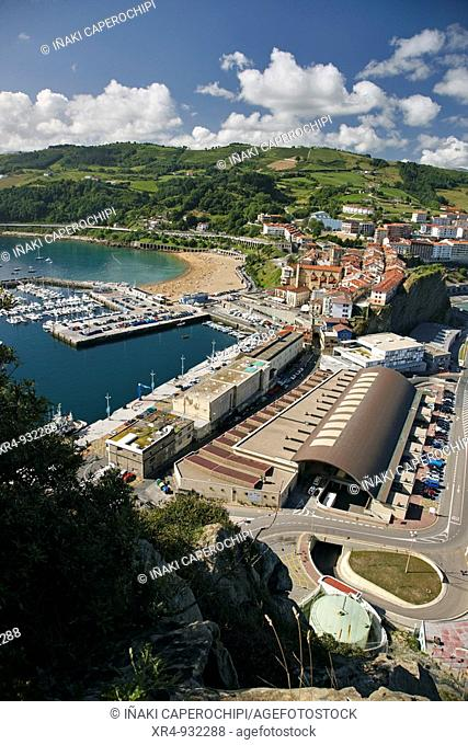 Getaria, Guipuzcoa, Basque Country, Spain