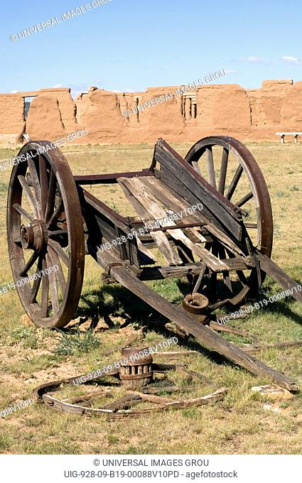 New Mexico, Fort Union National Monument. Established In 1851 As A Guardian And Protector Of The Santa Fe Trail