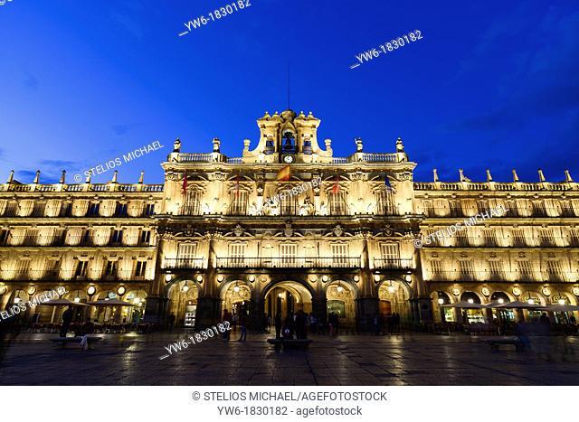 Plaza Mayor, Salamanca,Spain,Europe