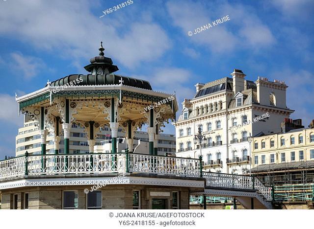 Bandstand, Brighton, Sussex, England, United Kingdom