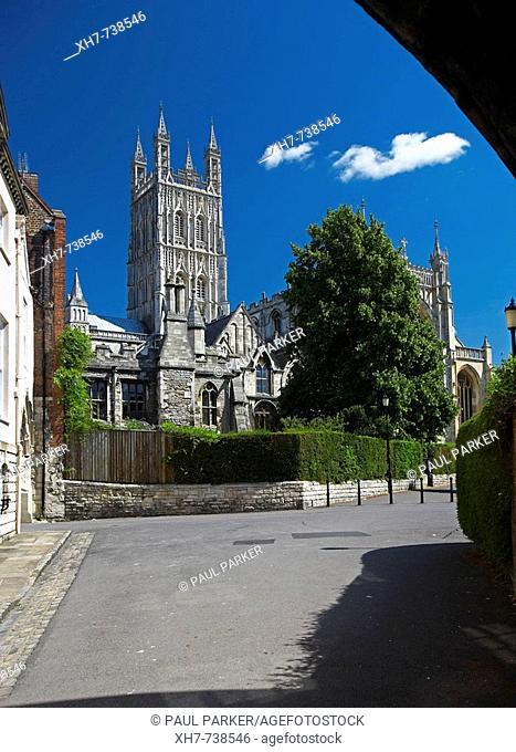 Gloucester Cathedral, Gloucester, England, UK
