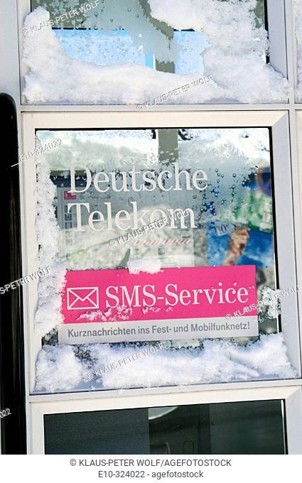 Deutsche Telekom SMS Service signs