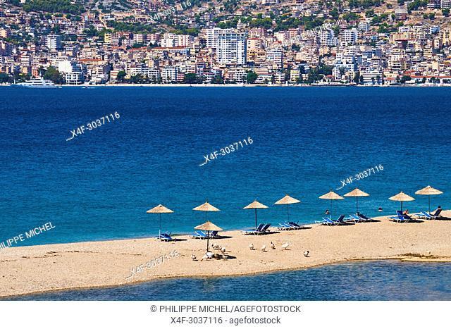 Albania, Vlore province, Saranda city