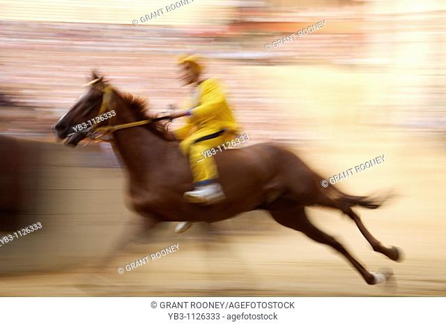 Trial Race, The Palio, Siena, Italy