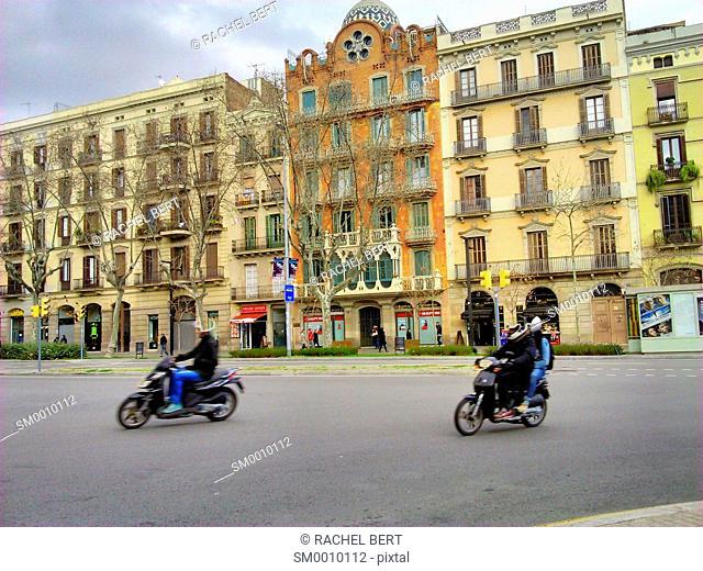 Passeig de Sant Joan, Barcelona, Catalonia