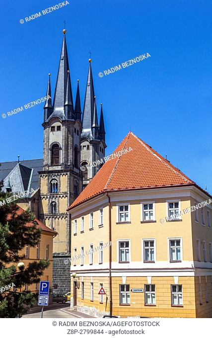 Cathedral of Sts. Nicholas and Elizabeth in Cheb, Czech Republic